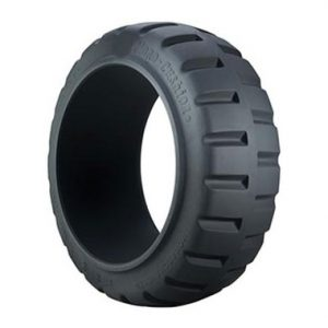 solid tyres with cushion