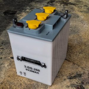 forklift acid battery 6v 200ah