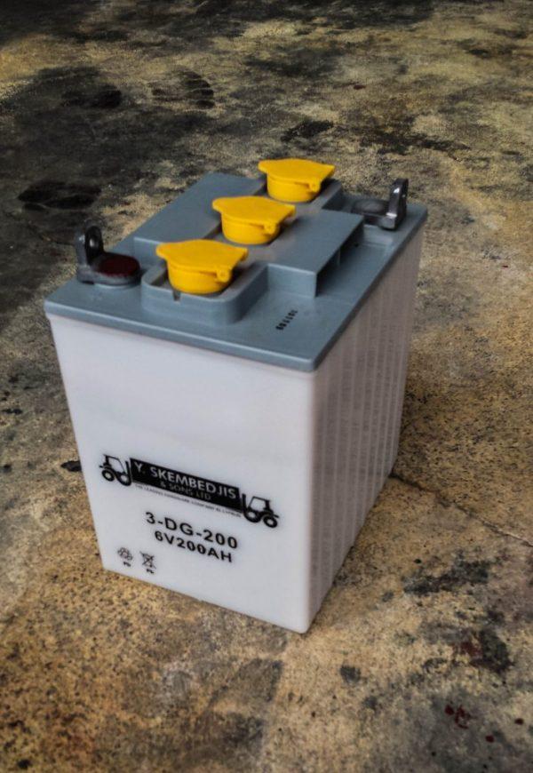 forklift acid battery 6v 200ah