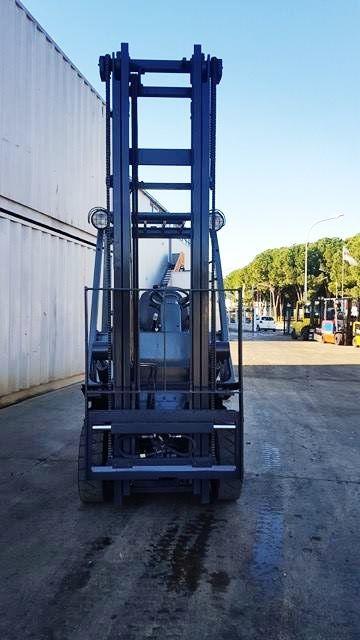 Four Way Side Loader Forklift Mitsubishi Rbm2025k Series: NISSAN FD01A15 1.5T USED DIESEL FORKLIFT